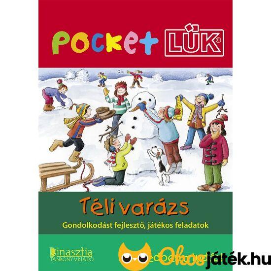 """Téli varázs füzet +alaplap  Pocket LÜK LDI908/A (DI) """"Utolsó darabok"""""""