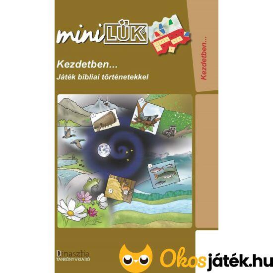 """Kezdetben... Játék bibliai történetekkel LÜK Mini füzet LDI256 (DI) """"Utolsó darabok"""""""