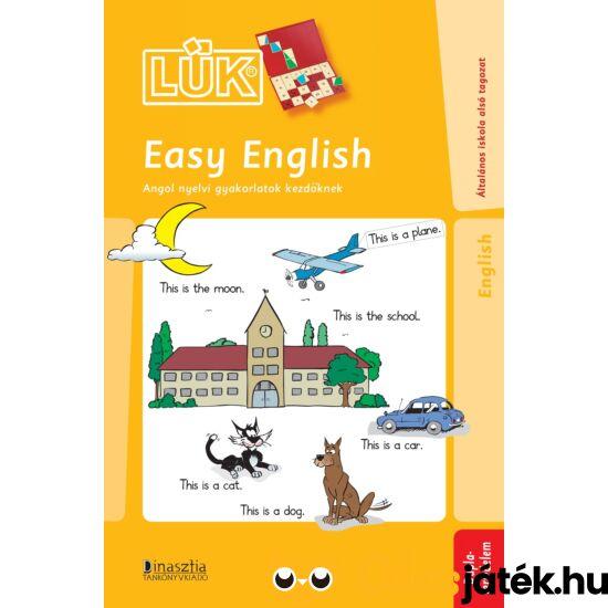 Easy English - angol nyelvi gyakorlatok 24-es táblához LÜK LDI-313 (DI)