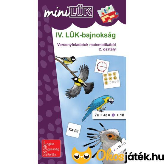 IV. LÜK-bajnokság matematikából 2.o. - LÜK Mini füzet LDI516 (DI)