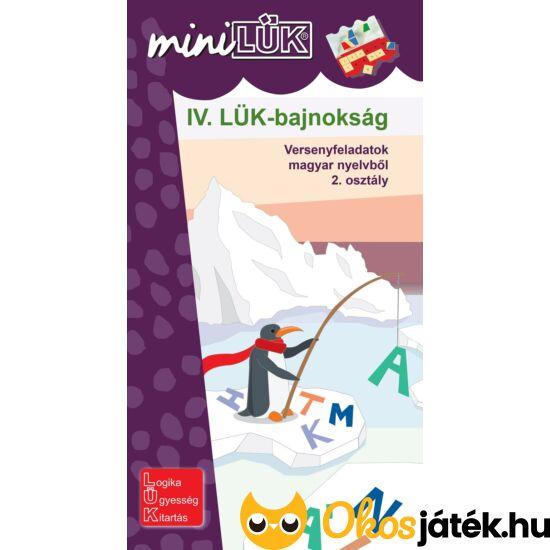 IV. LÜK-bajnokság magyar nyelvből 2. o. - LÜK Mini füzet LDI517 (DI)