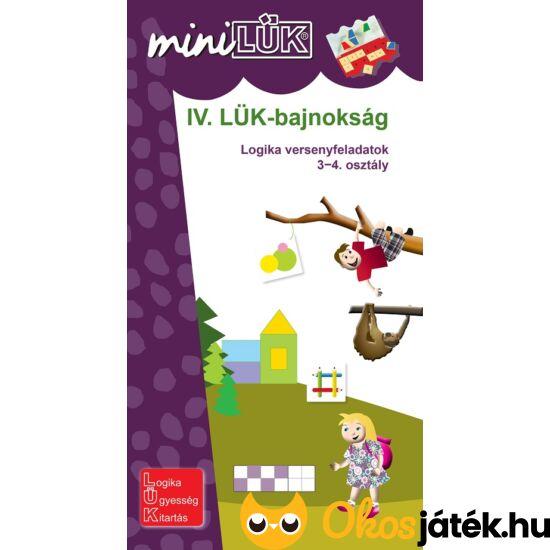IV. LÜK-bajnokság Logikai versenyfeladatok 3-4. o. - LÜK Mini füzet LDI523 (DI)