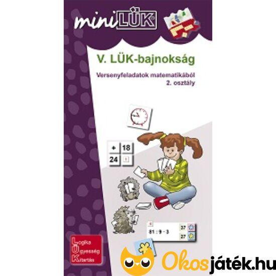 V. LÜK-bajnokság matematikából 2.o. - LÜK Mini füzet LDI524 (DI)  NFT