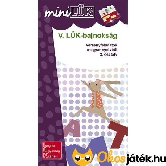 V. LÜK-bajnokság magyar nyelvtanból 2.o. - LÜK mini füzet LDI525 (AKC!)