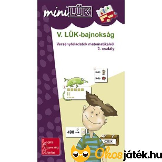 V. LÜK-bajnokság matematikából 3.o. - LÜK Mini füzet LDI526 (DI)