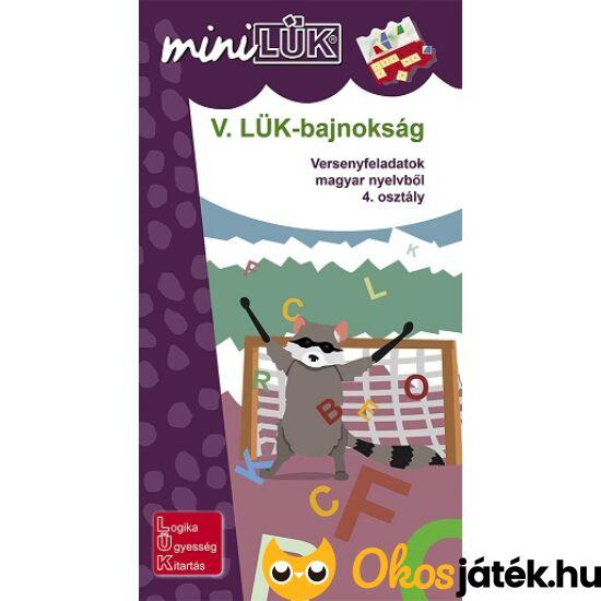 V. LÜK-bajnokság magyar nyelvtanból 4.o. - LÜK Mini füzet LDI529 (DI) NFT