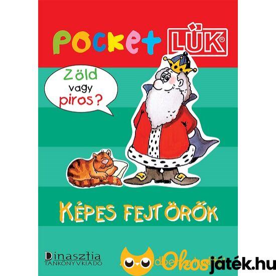 """Képes fejtörők Pocket LÜK füzet  LDI905 (DI) """"Utolsó darabok"""""""