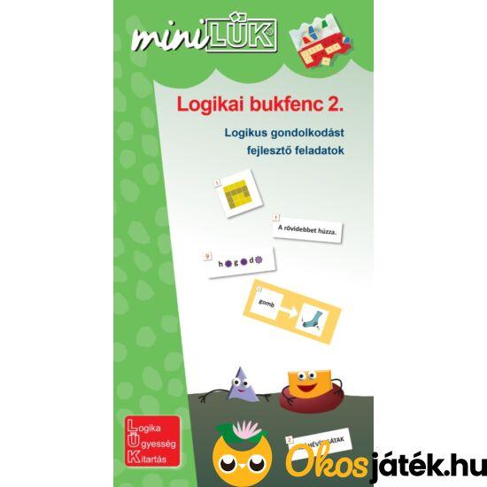 Logikai bukfenc 2. Lük Mini füzet 3.-4. osztályosoknak - LDI539 (DI)