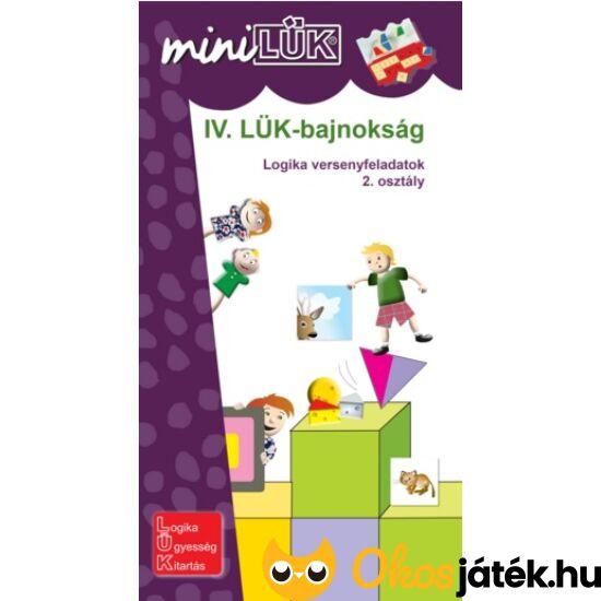 """Logika 2.o. - LÜK Mini Bajnokság IV. lük füzet -  LDI522 (DI) """"Utolsó darabok"""""""