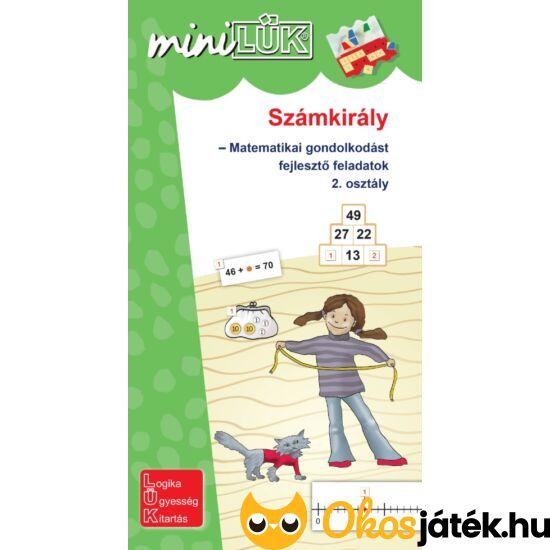 Számkirály, matematika gyakorló feladatok 2.osztály LÜK Mini füzet LDI532 (DI)