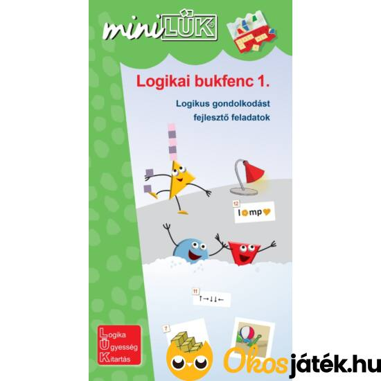 Logikai bukfenc 1. logikai feladványok 2.o. - LÜK Mini füzet LDI-538