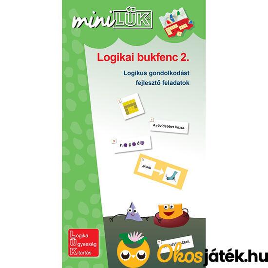 Logikai bukfenc 2. mini lük füzet 3-4. osztályosoknak
