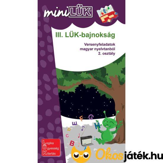"""III. LÜK-BAJNOKSÁG - versenyfeladatok  magyar nyelvtanból - 2. o. LÜK Mini LDI512 (DI) """"Utolsó darabok"""""""