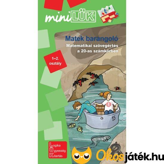 Matekbarangoló - Mini LÜK füzet 1-2. osztály