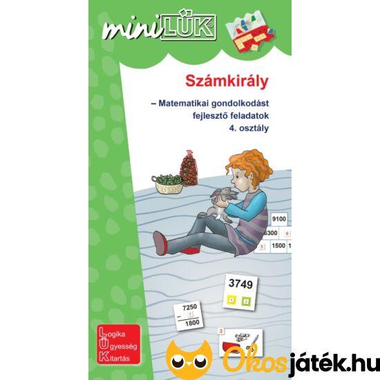 Számkirály matematikai feladatok 4.o. - LÜK Mini füzet LDI536 (DI)
