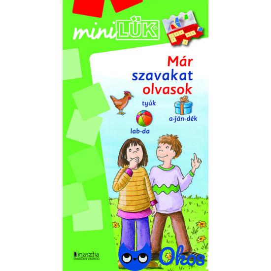 Már szavakat olvasok Mini LÜK füzet LDI248 - szótagolás gyakorlása játékosan, szótagoló olvasás első osztályosok részére (DI)