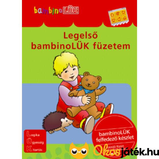 "Legelső Bambino LÜK füzetem LDI-001 (DI) ""Utolsó darabok"""
