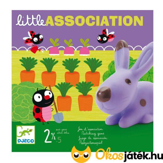 Little association - társasjáték két-három éves kortól - DJ8553 Djeco (BO)