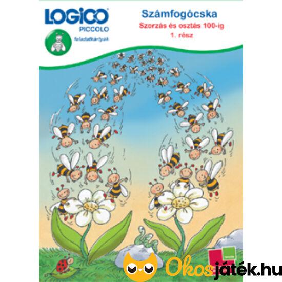 LOGICO Piccolo 3483 - Számfogócska: Szorzás és osztás 100-ig feladatlapok 1. rész 8+ (TF)