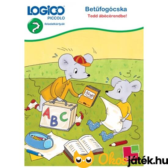 """LOGICO Piccolo 3314 - Betűfogócska Tedd ábécérendbe! (TF) """"utolsó darabok"""""""