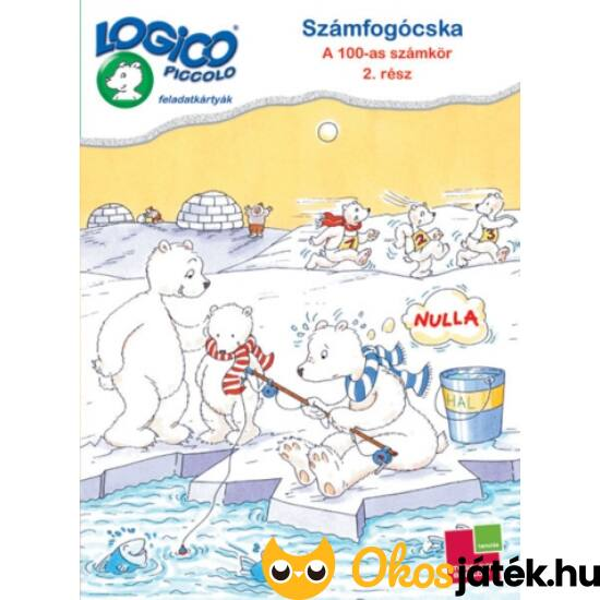 """LOGICO Piccolo 3479 - Számfogócska: 100-as számkör 2. rész 6+ (TF) """"Utolsó darabok"""""""