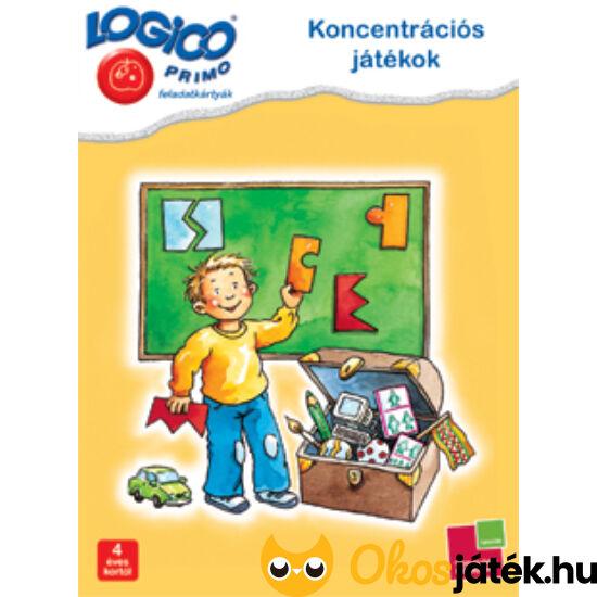 LOGICO Primo feladatlapok - Koncentrációs játékok (3228) 4+ (TF)