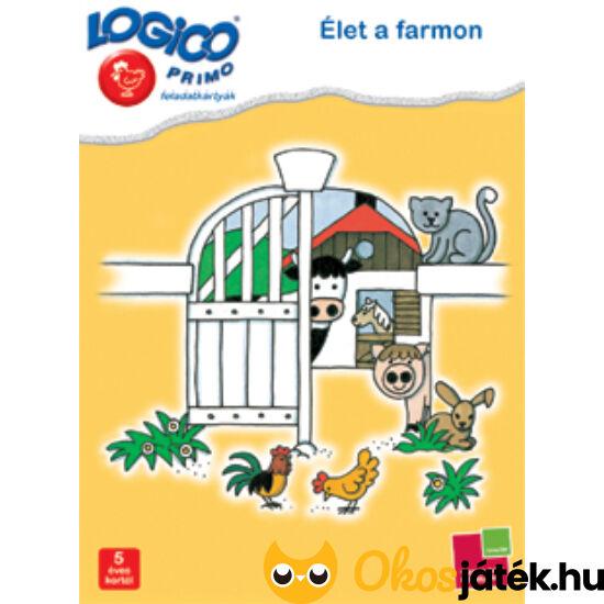 LOGICO Primo feladatlapok - Élet a farmon 3215 5+