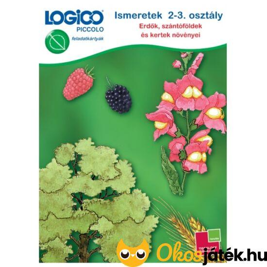 """LOGICO Piccolo 3462 - Ismeretek 2-3. osztály: Erdők, szántóföldek környezetismeret 8+ (TF)  """"utolsó darabok"""""""