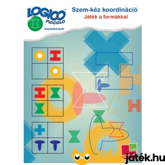 LOGICO Piccolo 3464 Szem-kéz koordináció - Játék a formákkal (TF)