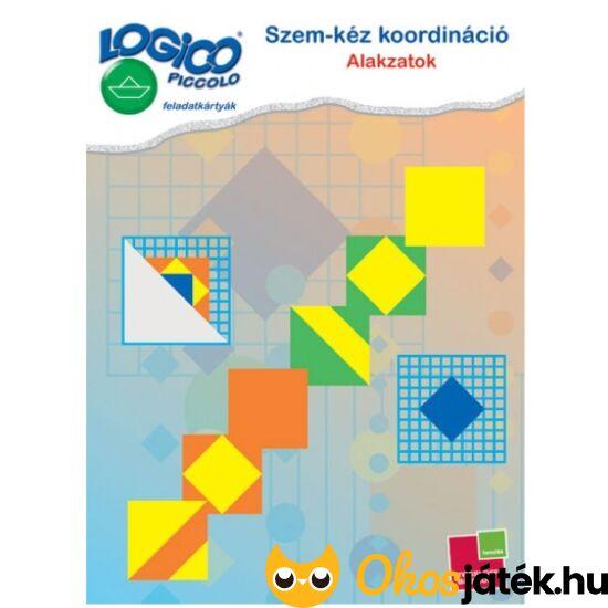 LOGICO Piccolo 3466 - Szem-kéz koordináció: Alakzatok (TF)
