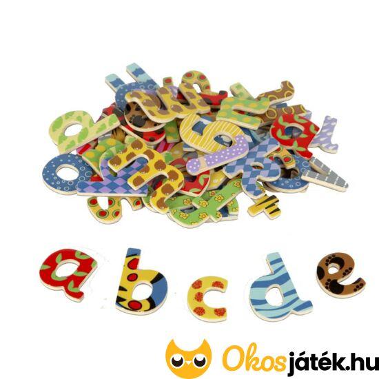 """Fa mágneses betűk, mágneses betűkészlet fából (kisbetűk) JC T-0073  """"Utolsó darabok"""""""