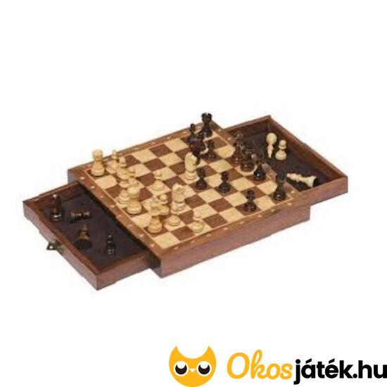 Mágneses fa sakk készlet (25*25cm) Goki 56919 (958) (GO)