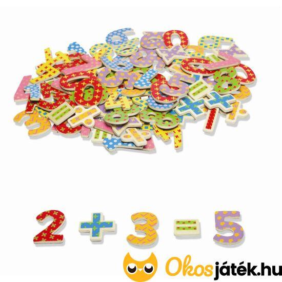 """Fa mágneses számok, mágneses számok fából JC T-0074 (JC) """"Utolsó darabok"""""""