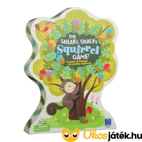 Mókusos csipeszes ügyességi társasjáték gyerekeknek Learning Resources EI-3405 (LR)