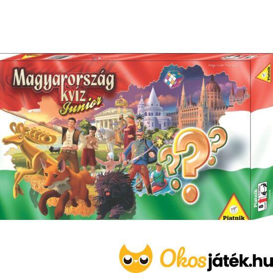 Magyarország kvíz junior - kvíz játék gyerekeknek - Piatnik (PI)