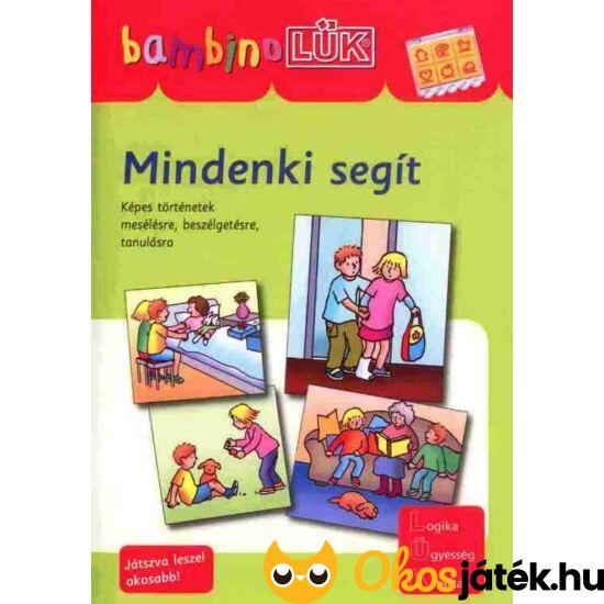 Mindenki segít LÜK Bambino füzet 3-5 év (LDI-128) (DI)