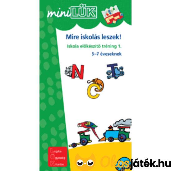 Mire iskolás leszek! 1. LÜK Mini LDI224