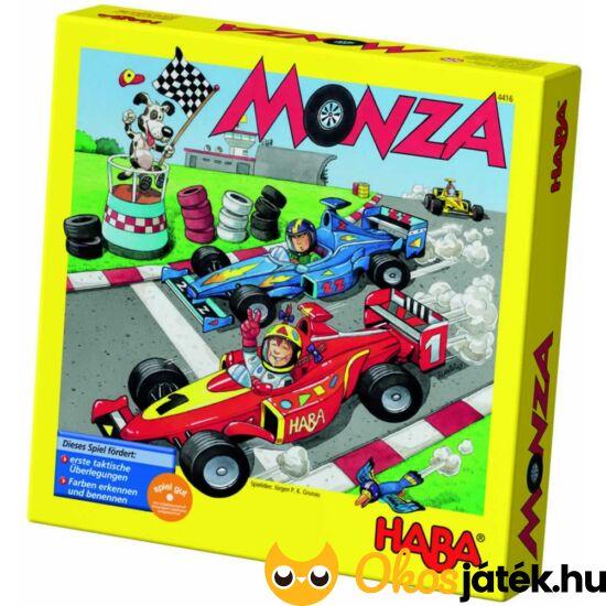"""Monza autós társasjáték, autóverseny társasjáték HABA (HA) """"utolsó darabok"""""""