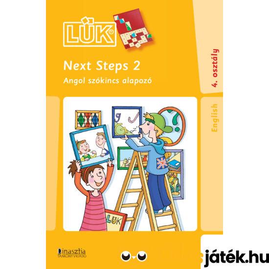 Next Steps 2 angol szókincs feladatok LÜK füzet 4. osztály 24-es táblához (DI) LDI-317