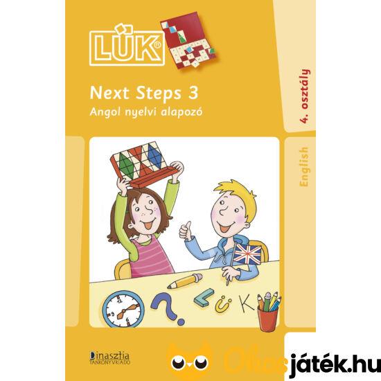 Next Steps 3 angol nyelvi gyakorló mini lük füzet 24db-os táblához LÜK (DI) LDI-318