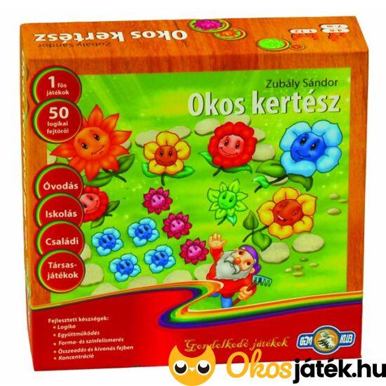 Okos kertész logikai játék virágokkal - GE