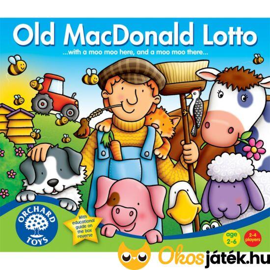 Old Mc Donald lotto - képkereső játék gyerekeknek - Orchard Toys (KA)