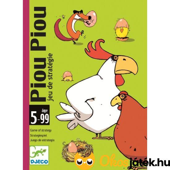 Piou Piou Djeco vicces kártyajáték gyerekeknek - DJ 5119