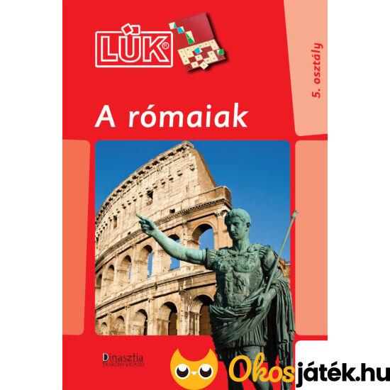"""Rómaiak lük füzet 24db-os táblához LDI-751 (DI) """"utolsó darabok"""""""