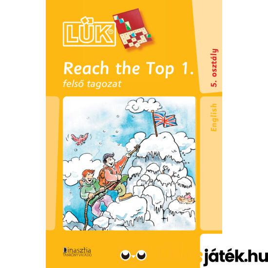 Reach  the top 1 - angol nyelvi lük füzet 24db-os táblához  LDI-319 (DI)