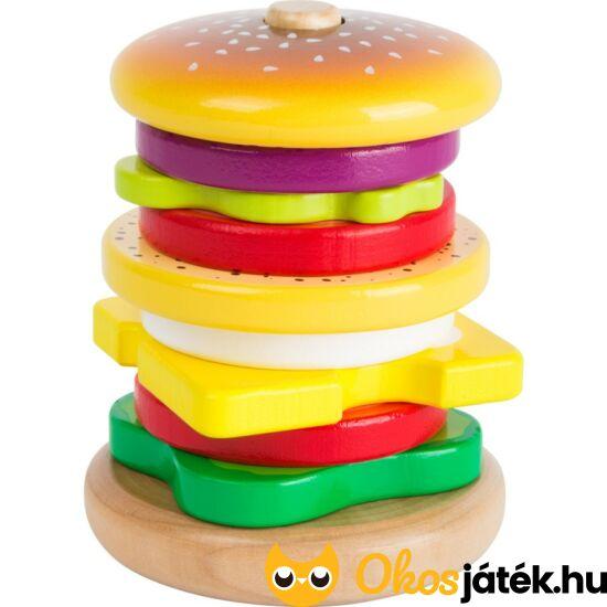 Hamburger montessori torony fából