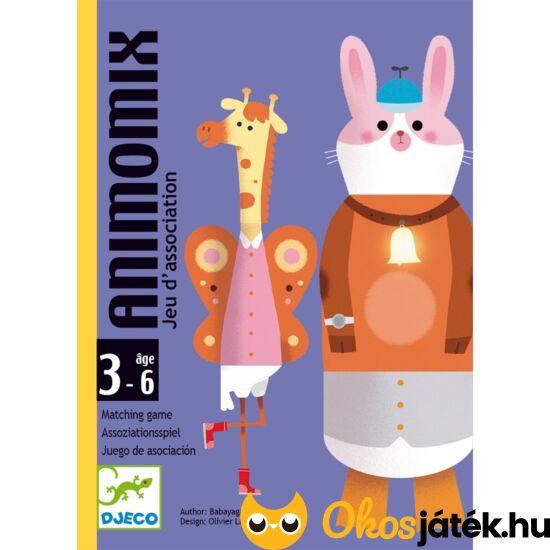 Animomix állatos fejlesztő kártyajáték