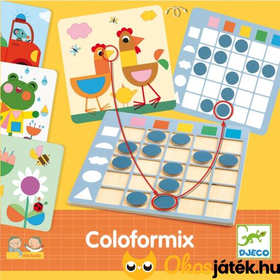 színek és formák Djeco coloformix