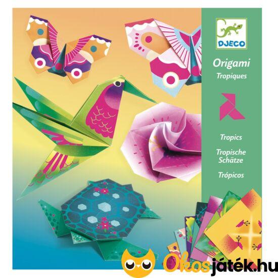3d origami állatok papírhajtogatás ötletekkel madár
