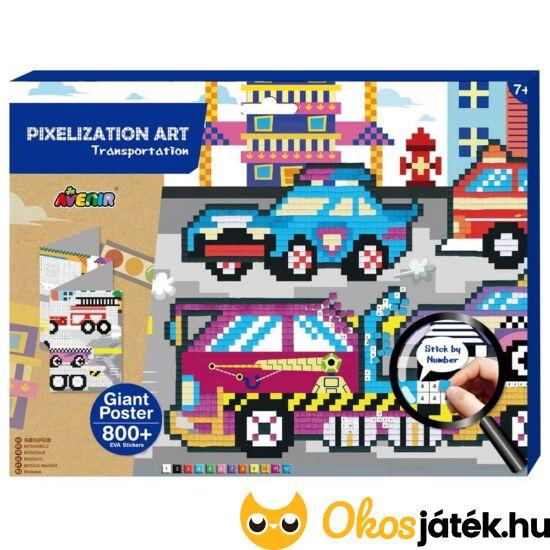 Pixel technika - Járművek